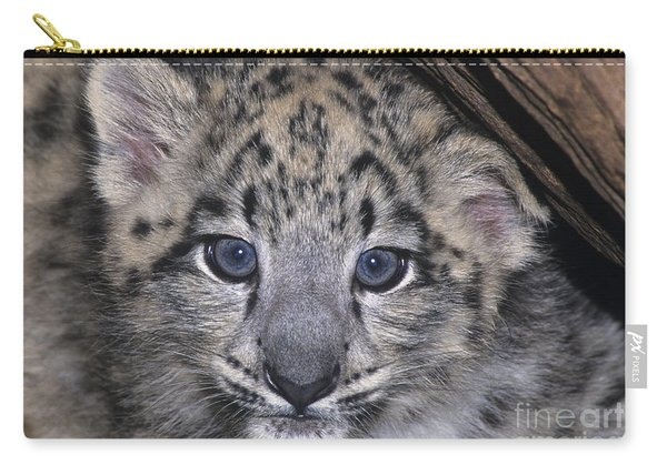 Snow Leopard Cub Endangered Carry-all Pouch