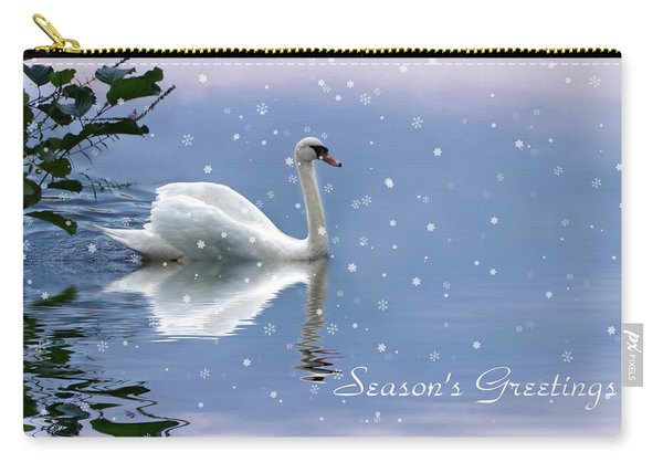 Snow Swan II Carry-all Pouch