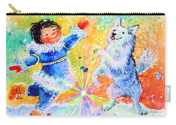 Snowball Fun Carry-all Pouch