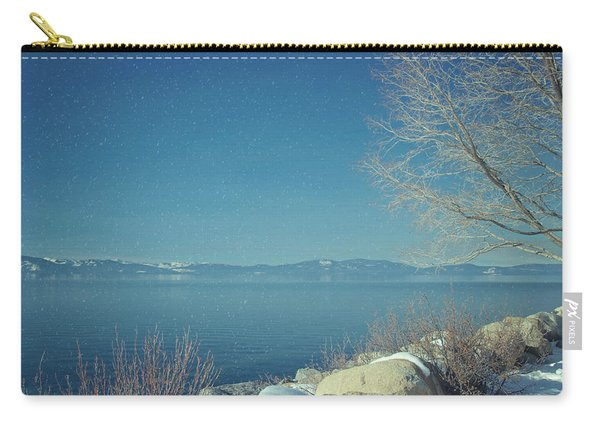 Snowing In Tahoe Carry-all Pouch