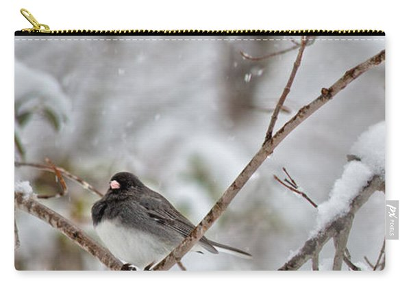 Snowy Grace Cardinals Carry-all Pouch