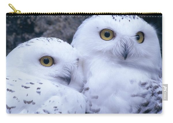 Snowy Owls Carry-all Pouch