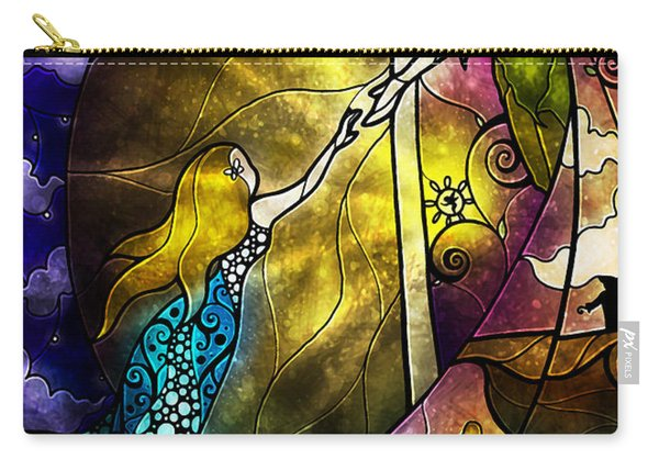 Off To Neverland Carry-all Pouch