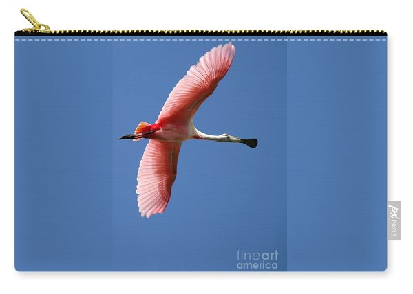 Soaring High Roseate Spoonbill Carry-all Pouch