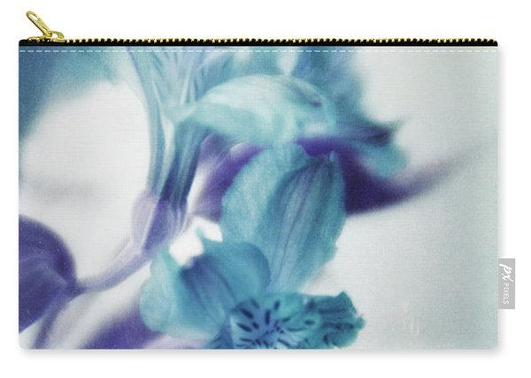 Soft Blues Carry-all Pouch