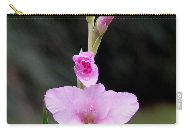 Soft Pink Glad Carry-all Pouch