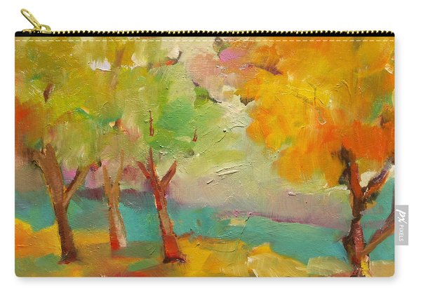 Soft Trees Carry-all Pouch