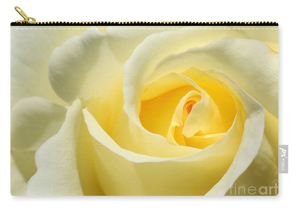Soft Yellow Rose Carry-all Pouch
