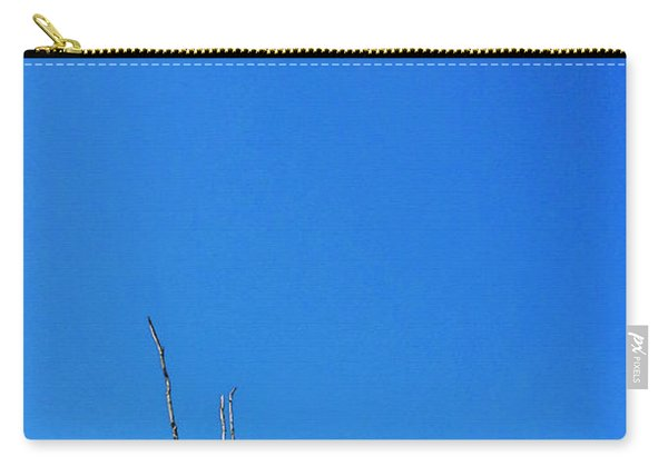 Solitude - Blue Sky Art By Sharon Cummings Carry-all Pouch
