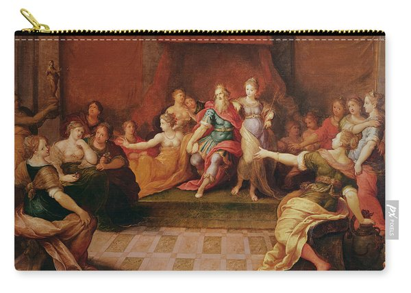 Solomon And His Women  Carry-all Pouch