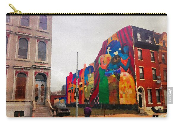 Some Color In Philly Carry-all Pouch
