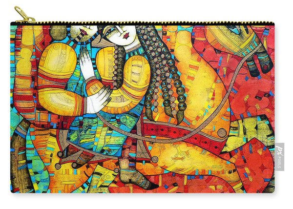 Sonata For Two And Unicorn Carry-all Pouch