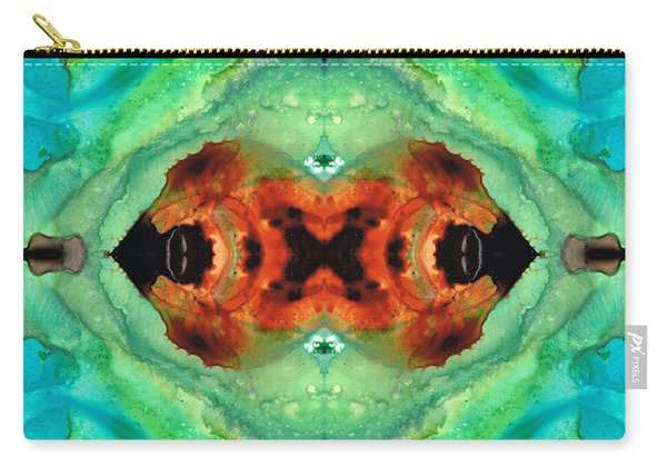 Soul Symphony - Abstract Art By Sharon Cummings Carry-all Pouch