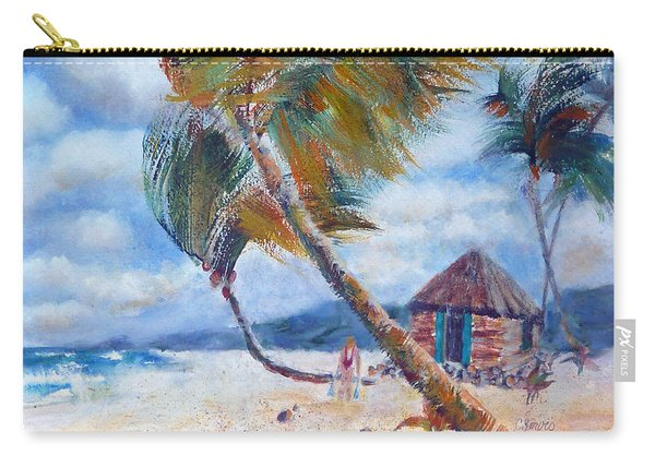 South Pacific Hut Carry-all Pouch