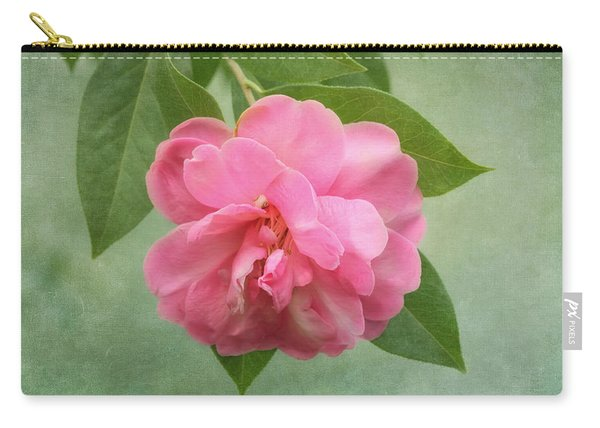 Southern Camellia Flower Carry-all Pouch