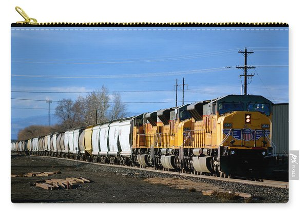 Southern Pacific Loading Up Carry-all Pouch