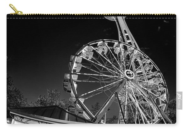 Space Needle Fights The End Of The World Carry-all Pouch
