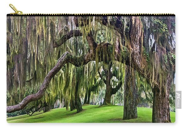 Spanish Moss Carry-all Pouch