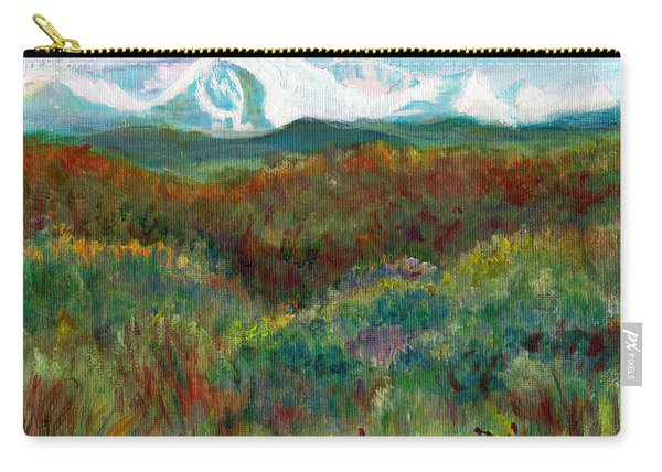 Spanish Peaks Evening Carry-all Pouch