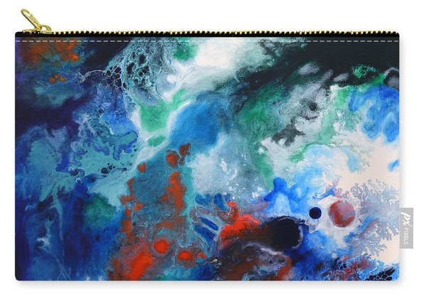 Spark Of Life Canvas One Carry-all Pouch