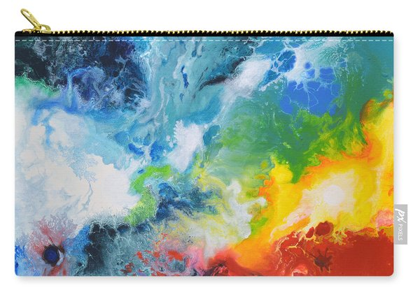 Spark Of Life Canvas Two Carry-all Pouch