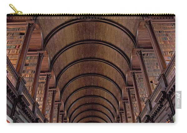 Speaking Shelves Of Trinity College Carry-all Pouch
