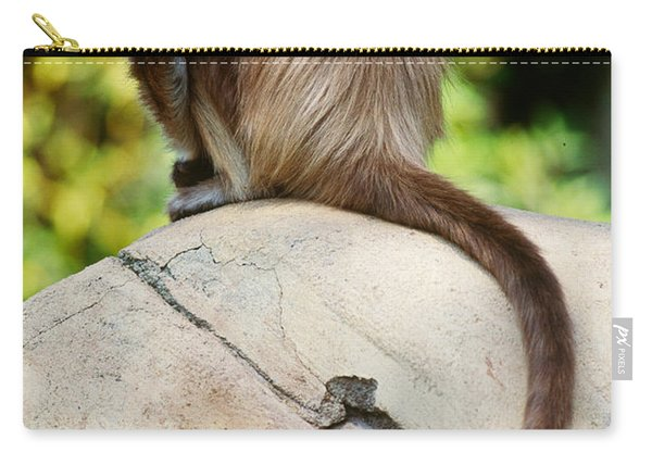 Spider Monkey Ateles Belzebuth Carry-all Pouch
