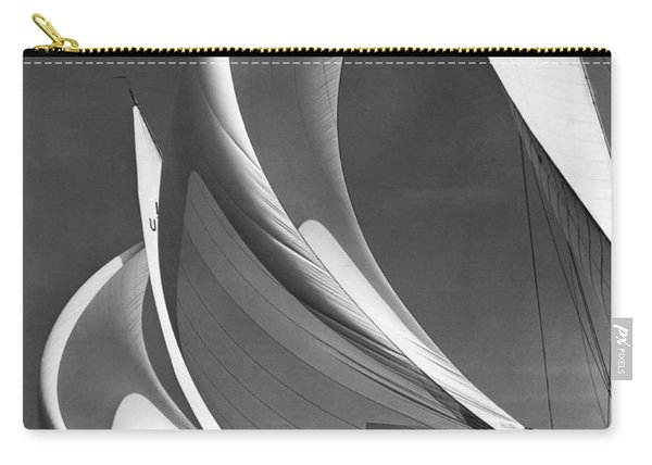 Spinakers On Racing Sailboats Carry-all Pouch