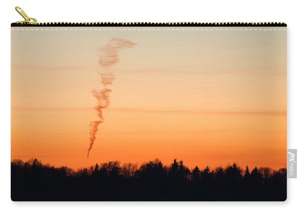 Spiral Cloud At Sunset Carry-all Pouch