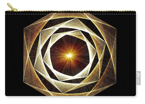 Spiral Scalar Carry-all Pouch