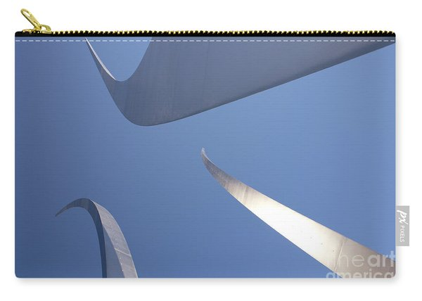 Spires Of The Air Force Memorial In Arlington Virginia Carry-all Pouch