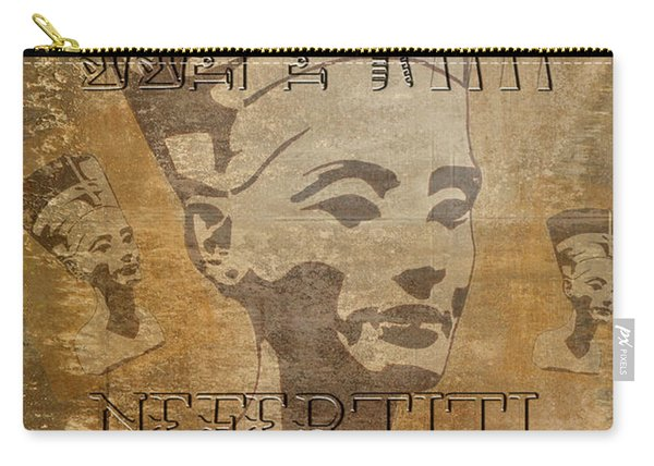 Spirit Of Nefertiti Egyptian Queen   Carry-all Pouch