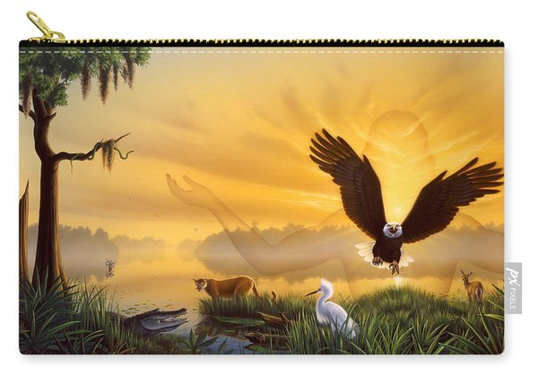 Spirit Of The Everglades Carry-all Pouch