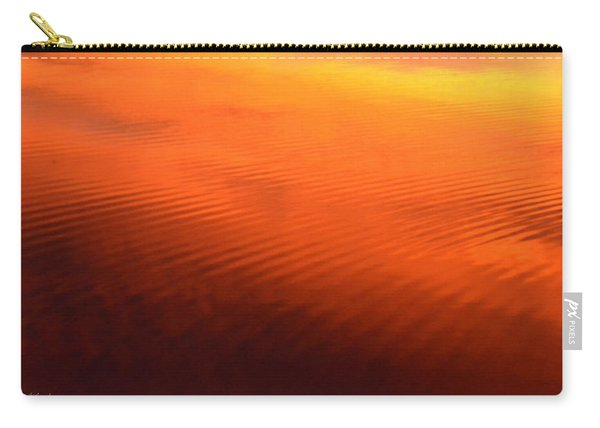 Splash Of Sunset  Carry-all Pouch