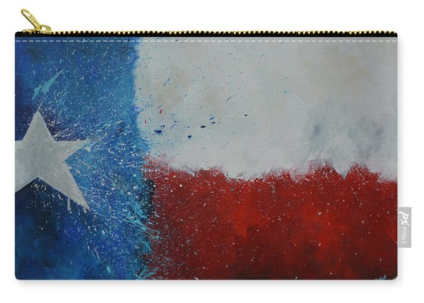 Splash Of Texas Carry-all Pouch