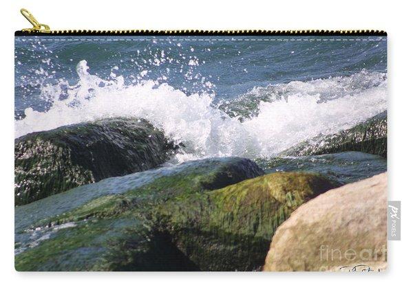 Splashing Rocks Carry-all Pouch