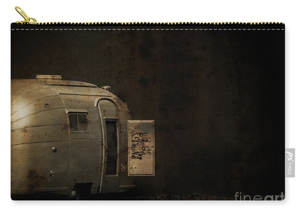 Spooky Airstream Campsite Carry-all Pouch