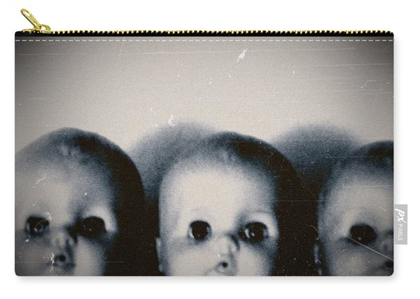 Spooky Doll Heads Carry-all Pouch