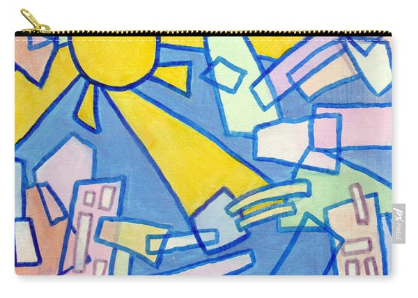 Summer In The City  Carry-all Pouch