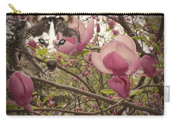 Spring And Beauty Carry-all Pouch