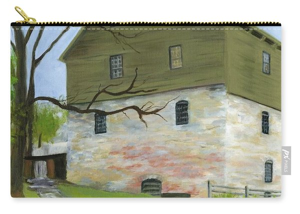 Spring At The Mill Carry-all Pouch