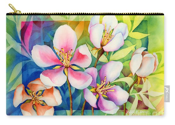 Spring Ballerinas Carry-all Pouch