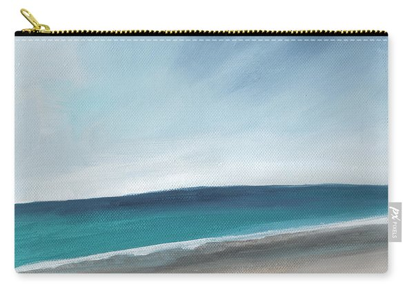 Spring Beach- Contemporary Abstract Landscape Carry-all Pouch