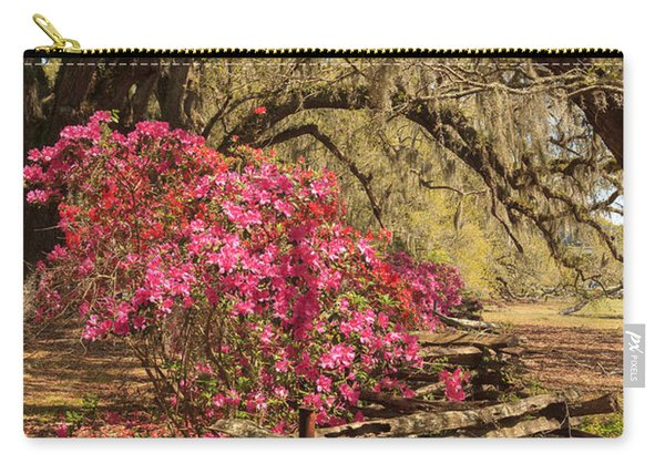 Spring Beauty Carry-all Pouch