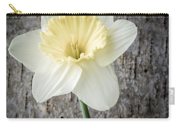 Spring Daffodil Square Carry-all Pouch