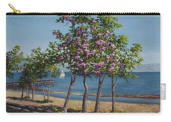Spring In Kings Beach Lake Tahoe Carry-all Pouch