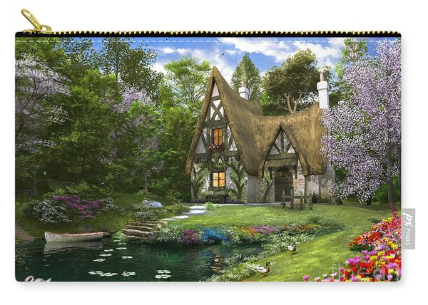 Spring Lake Cottage Carry-all Pouch