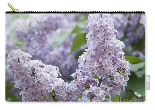 Spring Lilacs In Bloom Carry-all Pouch