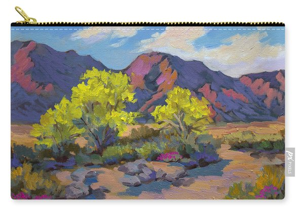 Spring Palo Verde Carry-all Pouch