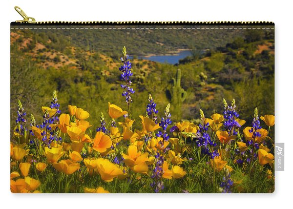 Spring Southwest Style  Carry-all Pouch